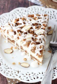 Breakfast Cake, Sweet Breakfast, Breakfast Ideas, Baking Recipes, Cake Recipes, Dessert Recipes, Streusel Coffee Cake, Almond Cakes, Sweet Bread