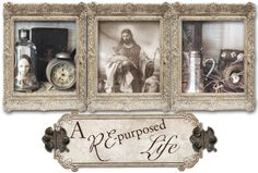 A Re-Purposed Life - a blog not to be missed...If you like vintage treasures, you will LOVE her blog!!! Her studio is in one of her July, 2013 posts & it is unbelievable!!!