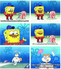 This is for yesterday squarepants