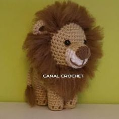 Donald y Daisy amigurumi tutorial Crochet Lion, Crochet Animals, Crochet Baby, Free Crochet, Knit Crochet, Crochet Crafts, Crochet Toys, Crochet Projects, Baby Knitting Patterns