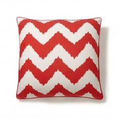 Chevron Ikat Print Pillow Cover