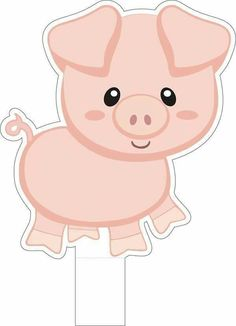 Новый год Cowgirl Birthday, Farm Birthday, Birthday Parties, Pig Party, Farm Party, Farm Crafts, Crafts For Kids, Bug Crafts, Animal Cutouts