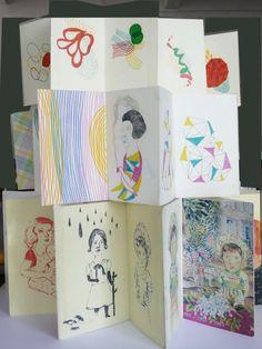 carnets/skechbooks - www.mariedelafon.com