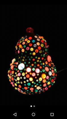 Items similar to Guaje decorative lamp on Etsy Types Of Craft, Acrylic Beads, Gourds, Craftsman, Christmas Bulbs, Ceiling Lights, Holiday Decor, Etsy, Home Decor