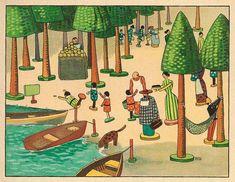 Das Puppendorf (The Village Dolls) by Hans Hoffmann (Germany, 1906)
