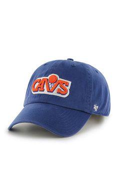 0385f4704de05  47 Cleveland Cavaliers Mens Blue 1970 Clean Up Adjustable Hat Cavs Gear