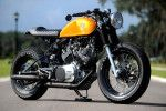 The world's most stylish Yamaha XV750 cafe racer
