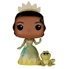 Disney Princess And The Frog Tiana And Naveen Pop! Vinyl Figure