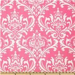Premier Prints Ozborne Candy Pink/White