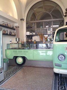 Gelateria Verde Pistacchio | Rome. #Kombi #vw: