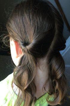 17 Lazy Hair Ideas for Girls // Kids Activities Blog