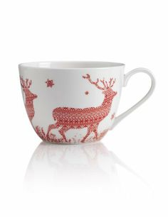 Jumbo Walking Stag Mug - Marks & Spencer