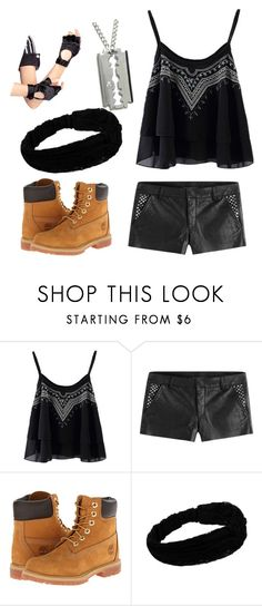 """Untitled #844"" by laurenwolfchild ❤ liked on Polyvore featuring Zadig & Voltaire, Timberland and Leg Avenue"