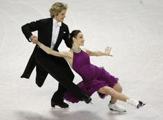 Meryl Davis, Charlie White take compulsory dance at U.S. Figure Skating Championships