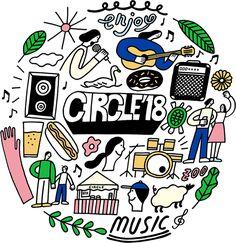 CIRCLE '18 2018年5月12日(土) - 5月13日(日)福岡・海の中道海浜公園野外劇場