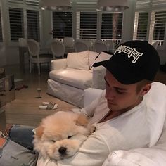 "bieber-news: "" justinbieber: My new little fluff ball Todd """