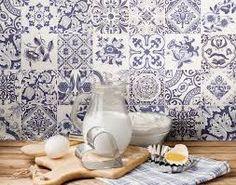 Bildresultat för blått kakel kök inspiration 2016
