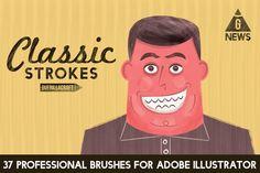 Classic Strokes for Adobe Illustrator by guerillacraft