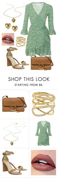 """Gold Heart"" by loveisablindwar on Polyvore featuring Chloé, Lana and Faithfull"