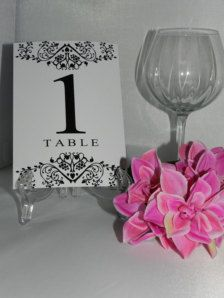 Wedding Table Numbers - Wedding Decorations - Page 8 - Etsy