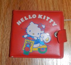Cute+Vintage+Hello+Kitty+Sanrio+Wallet+1976+1981+by+metalsk8er6,+$18.99