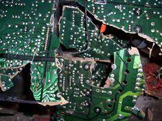 broken circuit board - Google Search