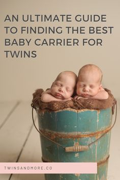 Twin Carrier, Best Baby Carrier, Newborn Twins, Twin Babies, Second Baby, First Baby, Moby Wrap, Expecting Twins, Nursery Twins