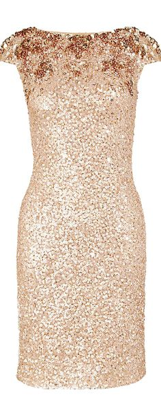 Jenny Packham ● Cocktail Dress. I have a niece who would kill for a dress like this. Oh, and a pair of shoes to match.