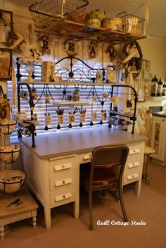 Love this craft desk!