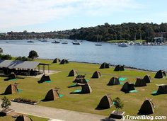 Camp on Cockatoo Island - 33 Things to Do in Sydney, Australia