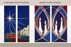 Examples of our Altar Scarves are loading. Please wait. Church Banners Designs, Church Design, Christian Symbols, Christian Art, Altar Cloth, Christmas Banners, Sewing Art, Religion, Sacred Art