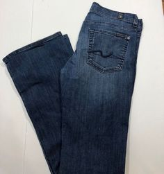 Ladies Seven For All Mankind Jeans Size 29 Bootcut Jeans Size, Clothes For Women, Lady, Pants, Fashion, Outerwear Women, Trouser Pants, Moda, La Mode