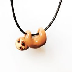Fancy - Cute Sloth Necklace omg this is the cutest