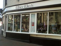 White Witch shop in Waltham Abbey, Essex