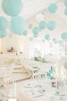 blanc & bleu Tiffany.
