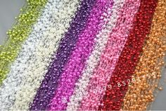 1roll = 72m Pérola Beads Garland U$ 12.27