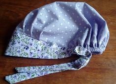 Scrubs Pattern, Scrub Hat Patterns, Hat Patterns To Sew, Clothing Patterns, Sewing Patterns, Sewing Collars, Hair Wrap Scarf, Nurse Hat, Apron Designs