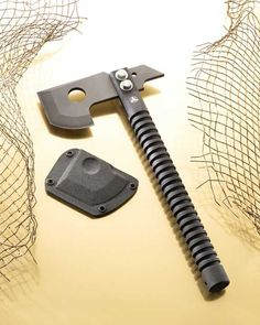 Nemesis Knives LLC - Custom Quality Knives and Tools. Perfect handle for a para cord wrap! Cool Knives, Knives And Tools, Knives And Swords, Survival Tools, Survival Knife, Beil, Tactical Knives, Custom Knives, Outdoor Survival
