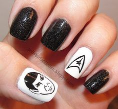 Live Long and Prosper :) I wish I had the ability to paint like that...lol