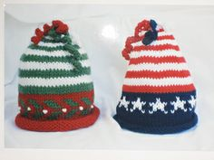 Holiday baby hats