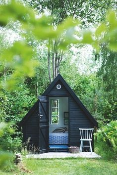 tiny guest cottage