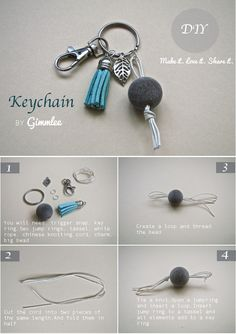 You will love this keychain. Do it Yourself!