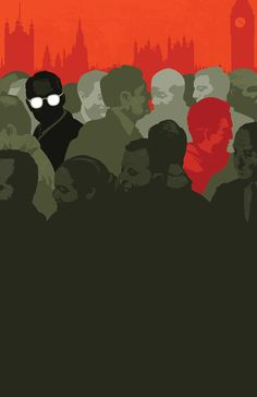 Tinker Tailor Soldier Spy Book cover illustrations created by Matt Taylor