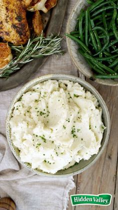 You won't believe how simple mashed potatoes can be. Just add sour cream and ranch seasoning to boiled potatoes, stir, and voila! The perfect Thanksgiving side.
