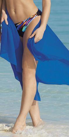 Sunflair #Blue #Pareo 23159-26