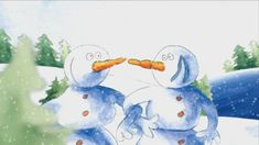 Een winters prentenboek op rijm over vriendschap.