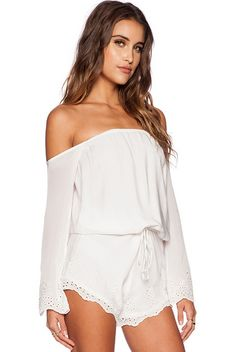 Chile Romper Winston White | Spot it Pop it
