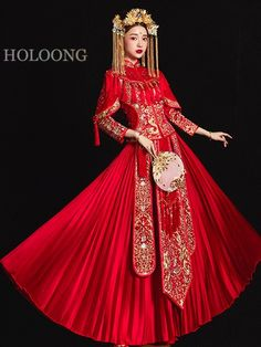 Advice, tactics, together with manual beneficial to receiving the very best end result and ensuring the optimum use of Bridal Beauty Plan Red Wedding Dresses, Classic Wedding Dress, Bridal Dresses, Formal Dresses, Wedding Outfits, Chinese Wedding Dresses, Chinese Gown, Chinese Bride, Chinese Wedding Dress Traditional