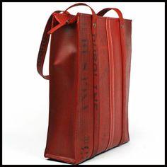 """Hand-Made Fire Hose """"The Dutch Tote Bag"""""""
