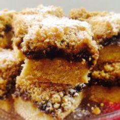 Shortbread Mincemeat Crumble Slice
